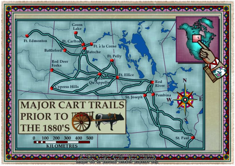 The Virtual Museum of Métis History and Culture on